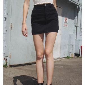 SOLD Brandy Melville Denim Skirt
